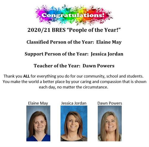 2020-21 BRES People of the Year