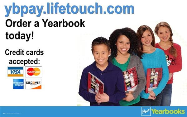 Order Your Yearbook by March 2nd