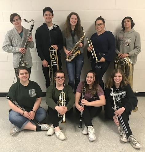 Honor Band Students from ACHS