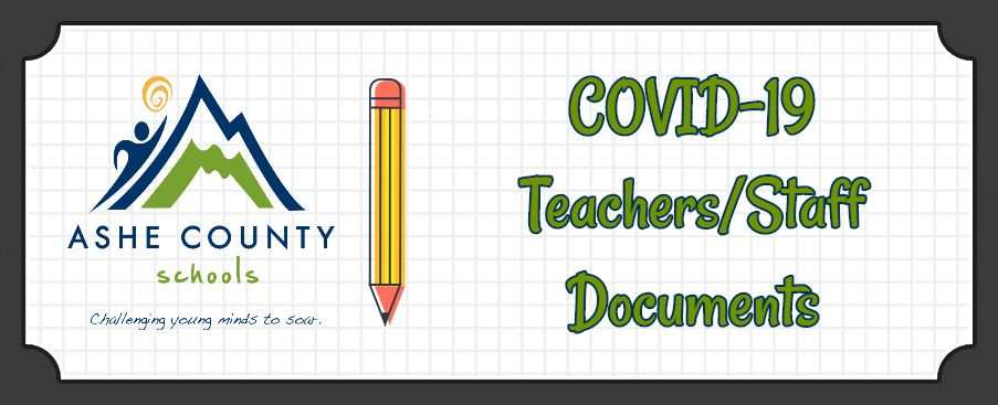 New Documents for Teachers/Staff Added to COVID-19 Information