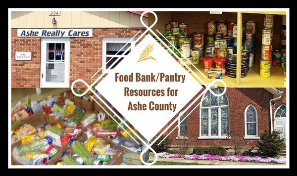 Food Bank/Pantry Resources for Ashe County