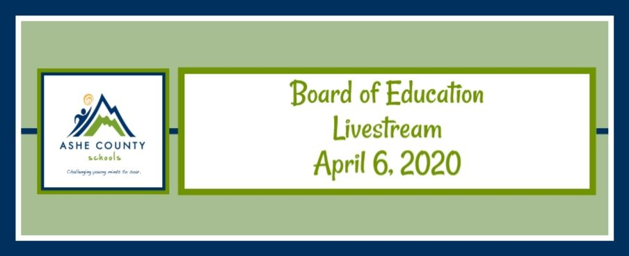 Board of Educcation Meeting Livestream