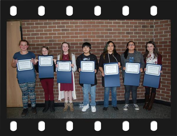 Recognition of Ashe Middle Students for Their Acceptance Into the North Carolina Piedmont Honors Band