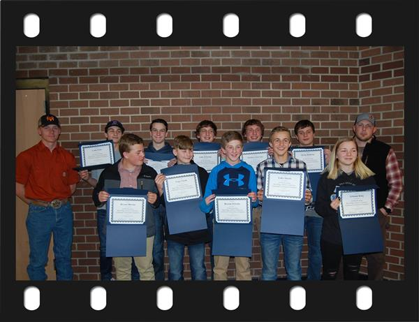 Recognition of the Ashe Middle Wrestling Team