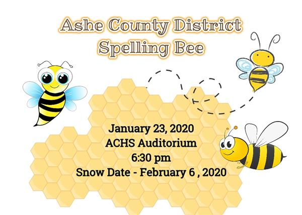 Ashe County District Spelling Bee