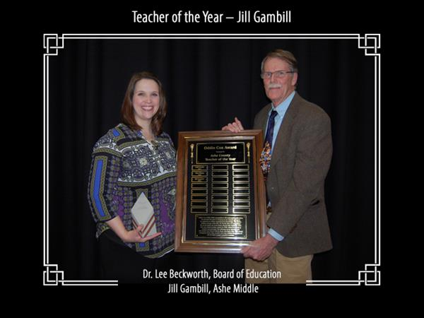 Teacher of the Year - Jill Gambill